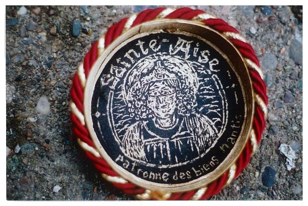 Sainte-Aise, patronne des biens nantis