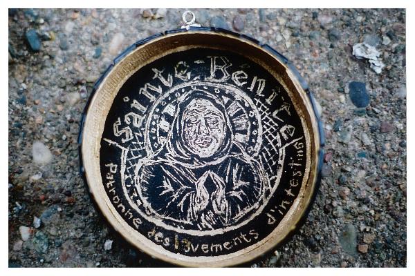 Sainte-Bénite, patronne des lavements d\'intestins